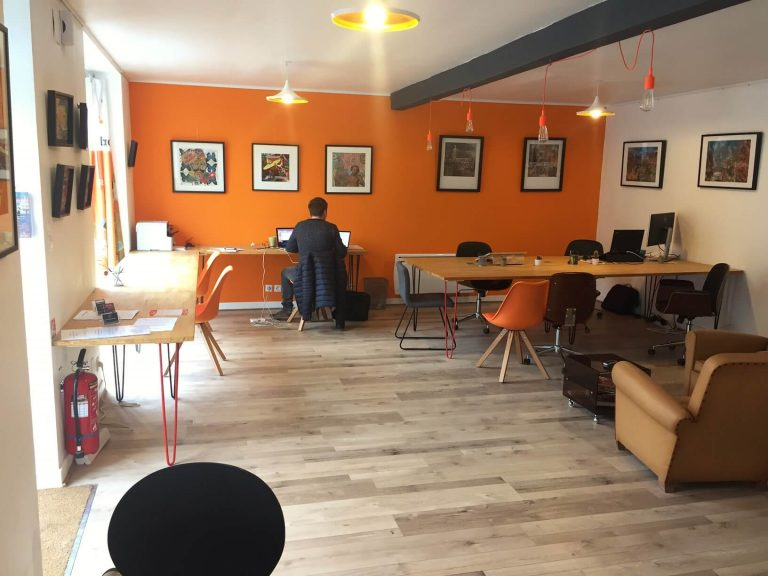 CoWork In Progress - Vue du coin cuisine